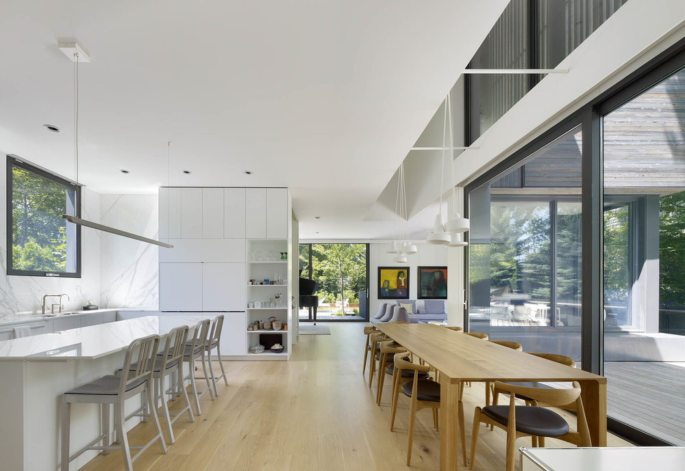 A House in a Grove Interior Dinning Room