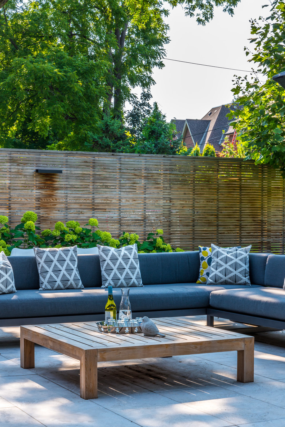 Cricket Club House Backyard Sectional
