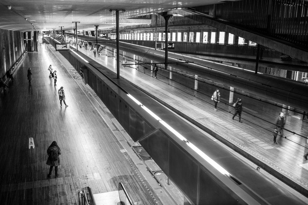 Den Haag - Randstad metrostation