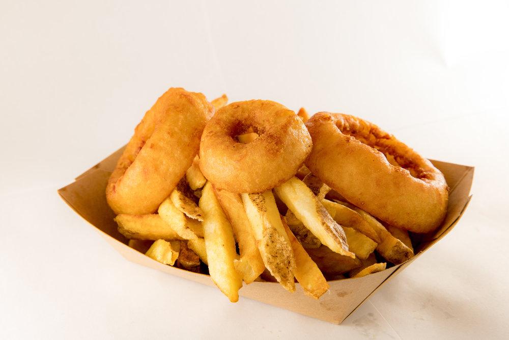 Fries + Rings