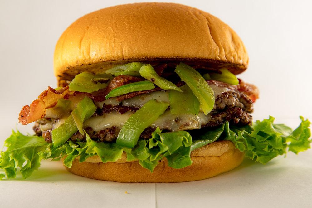 Poblano Burger
