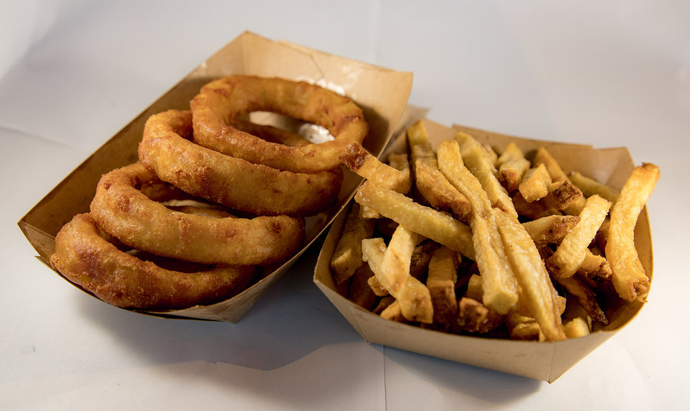 Fries + Rings