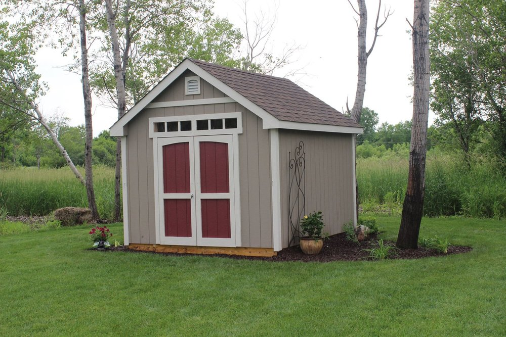 10x12 Gable Deluxe Painted Blaine