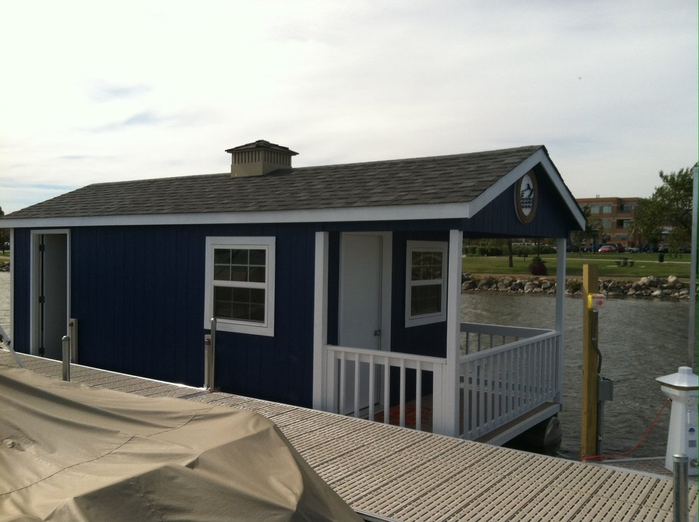 10x25 Floating Office w/ Porch