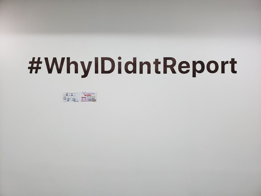 Copy of Why I Didn't Report