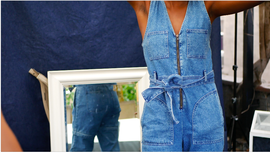 Check out the latest Installation... - R2R is short for 'Recycle to Reinvent'. Dive into denim with me as I talk about self discovery in the materialistic world.