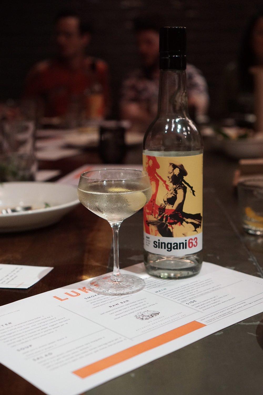 Singani63 Martini