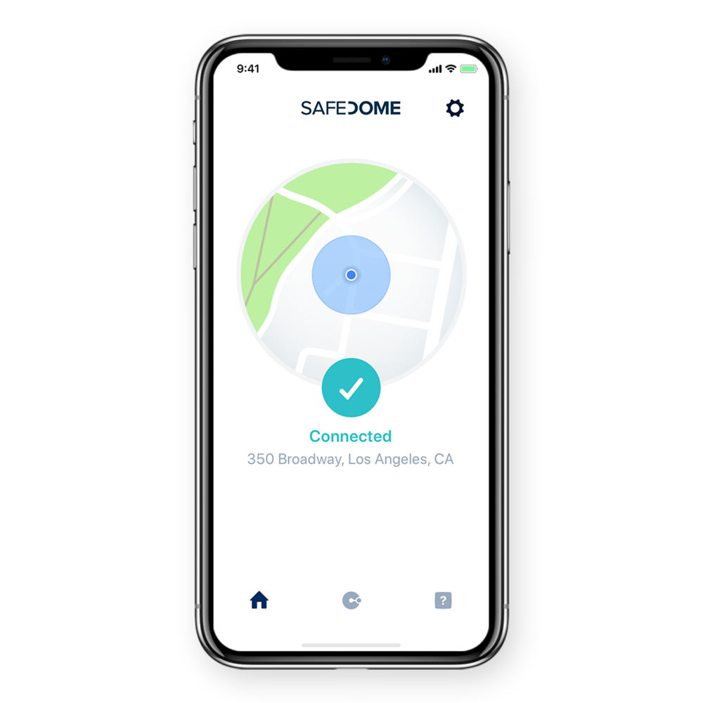 safedome-app-connected-location