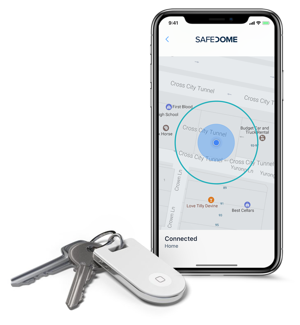 custom-bluetooth-key-tracker-location