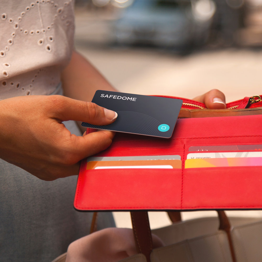 Superslim - We've slimmed down our technology to fit effortlessly into your wallet, bag or just about anything you want to keep safe.