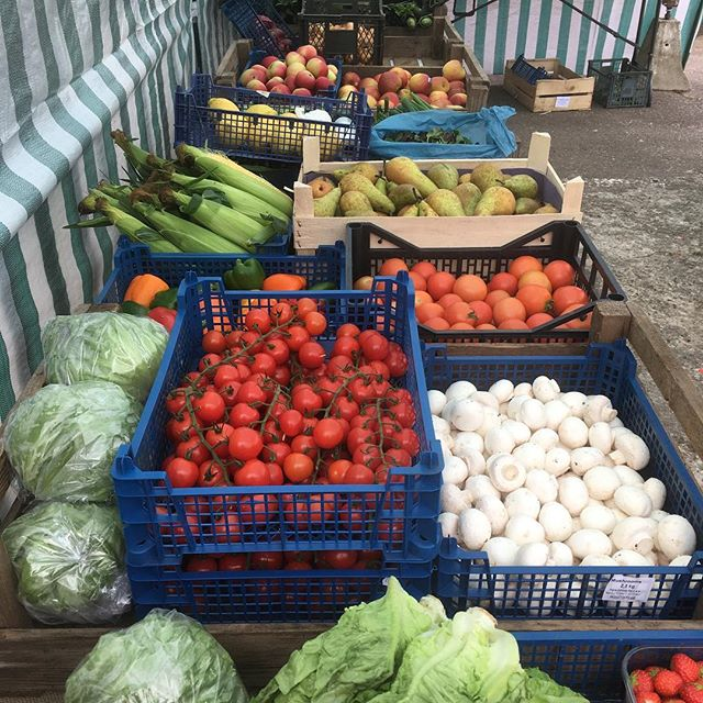 Fresh local veg every Saturday and Thursday. We grow much of our veg on site here at the Nursery using organic principals. #groworganic