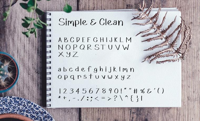 Simple & Clean Font Blog Post.jpg