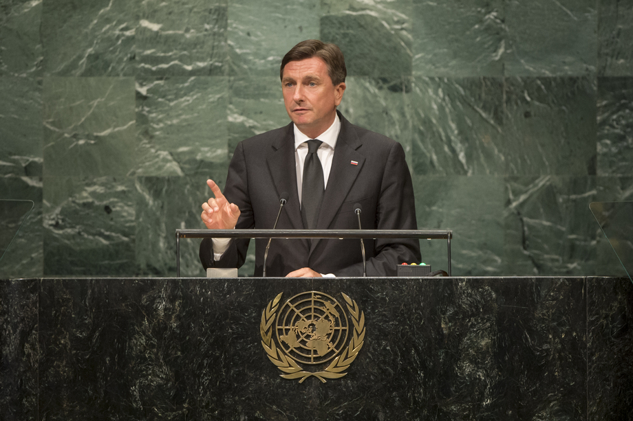 Dejan Židan – Deputy Prime Minister of the Republic of Slovenia presents to UN General Council