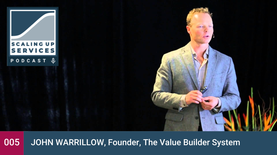 Scaling Up Services - John Warrillow