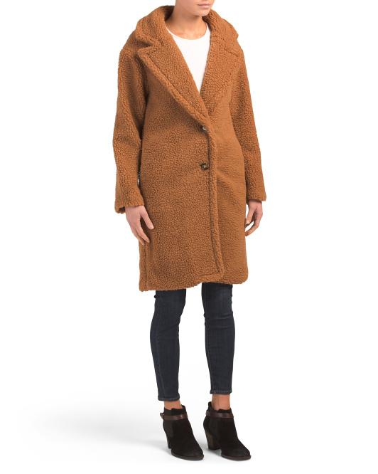 LUCY PARIS   Cozy Long Teddy Bear Coat, Sale Price: 59.99