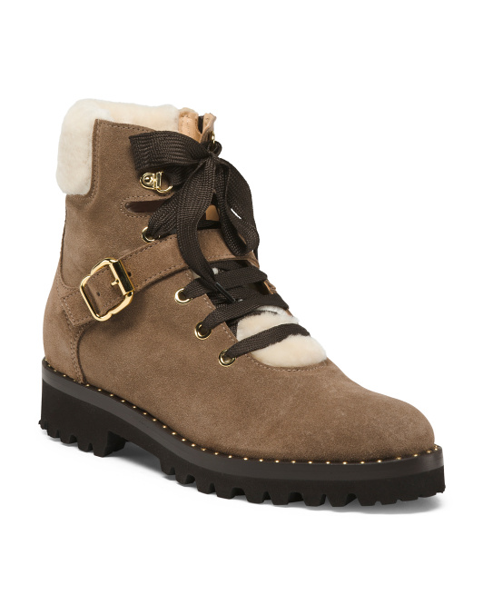NAPOLEONI  Made In Italy Suede Boots,  Sale Price: $119.99