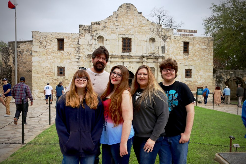 Remembering the Alamo... ;)