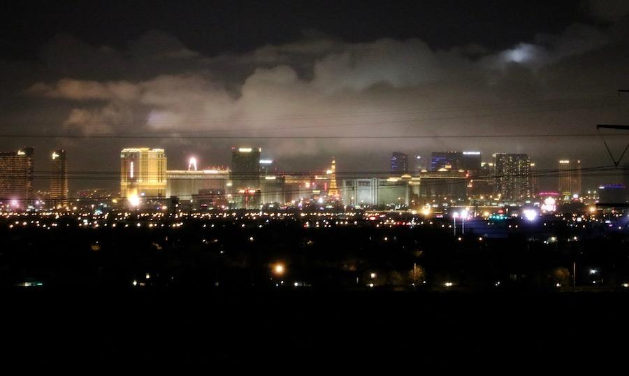 Las Vegas Stormy Skyline