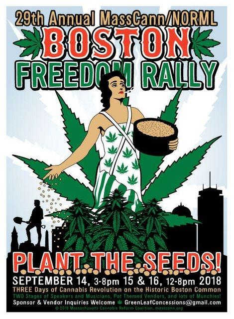 Boston Freedom Rally & Beard Bros. Pharms