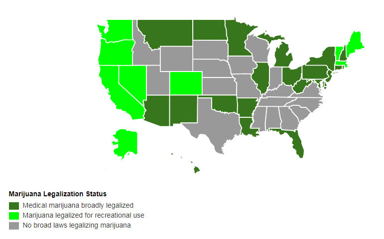 http://www.governing.com/gov-data/safety-justice/state-marijuana-laws-map-medical-recreational.html