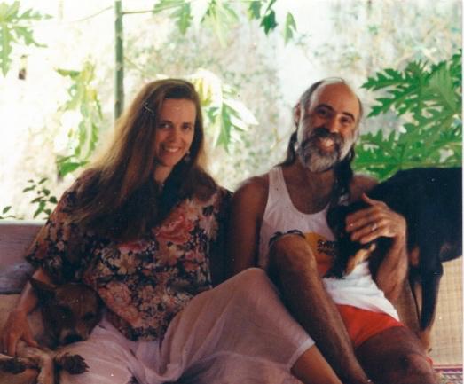 Nikki & William in Goa, India (1994)