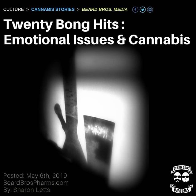 "A friend and I were comparing notes on using cannabis to treat chronic depression. At this friend's lowest point, doing 20 bong hits in a row seemed to do the trick momentarily, but it wasn't sustaining. - How many of us have done this – holed ourselves up and smoked for hours to get emotional relief – but, it doesn't come, it just numbs. - ""Add anxiety or the mania that comes with a Bi-Polar diagnosis, and many patients add alcohol to calm themselves, as alcohol mimics Valium. Both drugs are toxic to the system, and sedation via alcohol only leads to dependence and more troubles than the initial anxiety."" - Suffering hormonal depression for 13 years with Thyroid Disease, in my fifties I rediscovered the herb for emotional relief, then my symptoms were increased going into Menopause. Teary-eyed emotions turned into crying jags, only quelled by hitting the bong. - A favorite essay penned, Cannabis: Calming the Crazy Bitch, details what women deal with emotionally via hormonal imbalances, and how I was inevitably helped overall via ingesting cannabis for myriad symptoms from both disorders. - That said, I'm still triggered by life situations and still deal with depression, anxiety, and occasionally, an overall sense of dread coming out of now where – a simply awful feeling, common with hormonal symptoms. - Written by @sharoneletts - Continued at www.beardbrospharms.com Link in bio. 🌲🌲🔥🔥💨💨 #Beardbros_Pharms #BeardBrosMedia #BBMedia #CannabisNews #losangeles #la #california #cannabiscommunity #cannabis #marijuana #real #life #weshouldsmoke"
