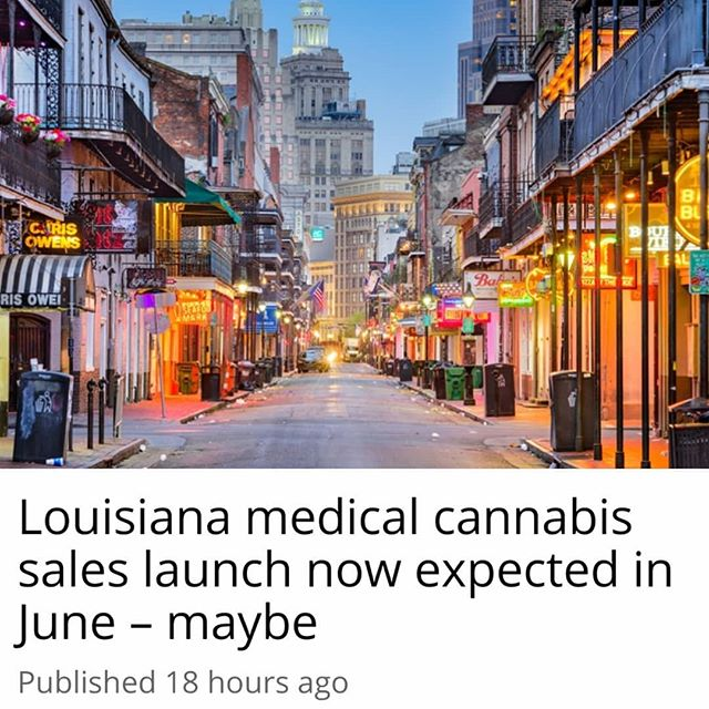 "Louisiana's first batch of medical marijuana won't reach the shelves by the mid-May deadline demanded by pharmacists and patients, further delaying the program's sales start. - But June's a possibility. - #Louisiana State University's #agricultural center, which oversees one of two state-sanctioned marijuana growers, said it now expects to have some cannabis products ready for testing by state regulators at the end of May. - The release to the pharmacy dispensaries will depend on how long the agriculture department takes to do its testing – and on nothing disrupting production plans to get the product to the department. - ""We're moving as fast as we can,"" Hampton Grunewald, with the LSU AgCenter, said at the latest public meeting to update medical marijuana supporters. - ""There are hurdles that we're all trying to jump through."" - Even when LSU's grower, GB Sciences, gets medical cannabis to the shelves, it's expected to only provide a limited supply for patients with the most severe conditions. - Frustrated that four years have passed since lawmakers created the framework for dispensing medical cannabis, Louisiana pharmacists licensed to dispense medical marijuana and the patients clamoring for it had called for a May 15 product release. 🌲🌲🔥🔥💨💨 #Beardbros_Pharms #BeardBrosMedia #BBMedia #CannabisNews #losangeles #la #california #cannabiscommunity #cannabis #marijuana #real #life #weshouldsmoke"