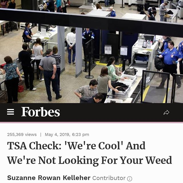 "#Travelers navigating through #airports in states where marijuana has been legalized are picking up mixed messages, thanks to a hodgepodge of conflicting #federal and #state #laws and enforcement policies that differ from airport to #airport. - ""Are we cool? We like to think we're cool,"" said the TSA in a recent Instagram post. ""We want you to have a pleasant experience at the airport and arrive safely at your destination. But getting caught while trying to fly with marijuana or cannabis-infused products can really harsh your mellow."" - ""Let us be #blunt,"" the caption continues. ""TSA officers DO NOT search for marijuana or other illegal drugs. Our screening procedures are focused on #security and detecting potential #threats. But in the event a substance appears to be marijuana or a cannabis-infused product, we're required by federal law to notify law enforcement. This includes items that are used for #medicinal purposes."" - ""There are all kinds of mixed messages being sent, but that's because we have mixed messages in the legal system,"" says David Bannard, an attorney with Kaplan Kirsch & Rockwell LLP in Boston, who consults with airports on marijuana and other regulatory issues. ""We've got such a conflict right now between states that have legalized marijuana for either recreational or medicinal use and the federal requirements that continue to make it a Schedule I controlled substance."" Since the passage of the Controlled Substances Act in 1970, marijuana has been classified in the same group as heroin, LSD and ecstasy. - But times — and attitudes — are changing. National support for legalizing marijuana at the federal level reached a record 66 percent in a Gallup survey from October 2018, even hitting majority level among traditionally conservative segments such as older Americans over age 55 (59%) and Republicans (53%). - Currently, the U.S. map of legalized marijuana looks like a patchwork quilt. - Cont. In Comments 🌲🌲🔥🔥💨💨 #Beardbros_Pharms #BeardBrosMedia #BBMedia #CannabisNews #losangeles #la #california #cannabiscommunity #cannabis #marijuana #real #life #weshouldsmoke"