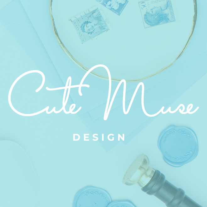 Branding and new website for Cute Muse Design