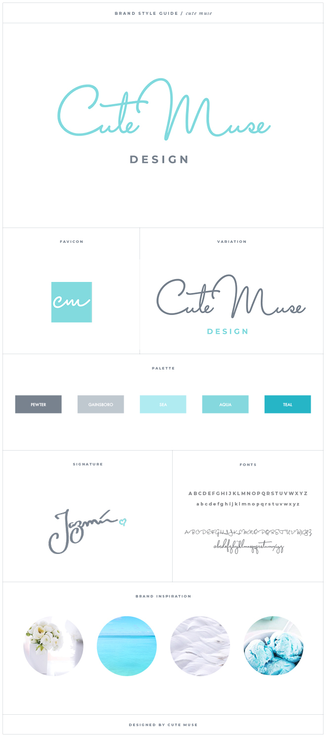 Cut Muse Design - Brand Style Guide