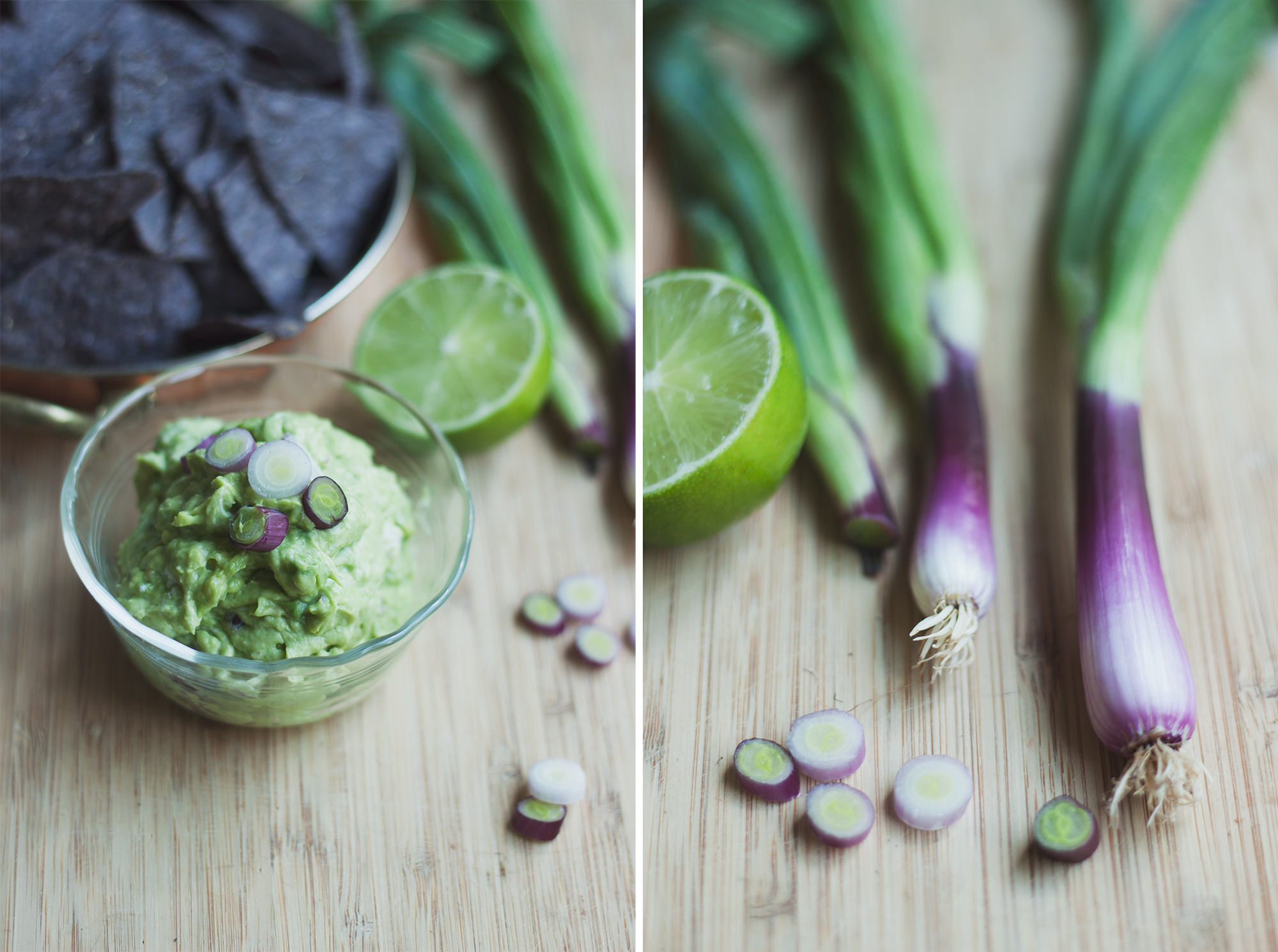 chevre guacamole w purple scallions via will frolic for food
