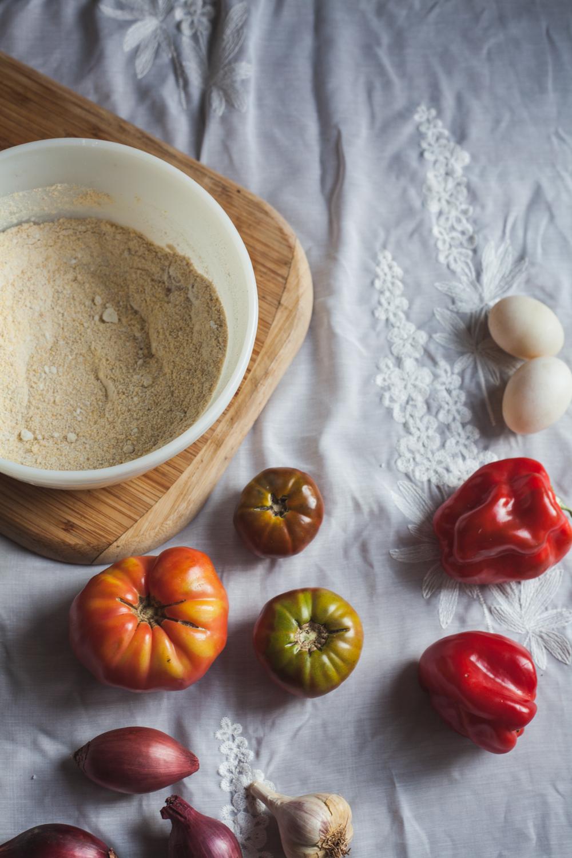 heirloom tomato kefir cornbread recipe | will frolic for food