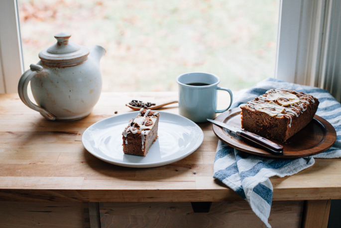 apple butter breakfast cake (gluten free, dairy free) via will frolic for food