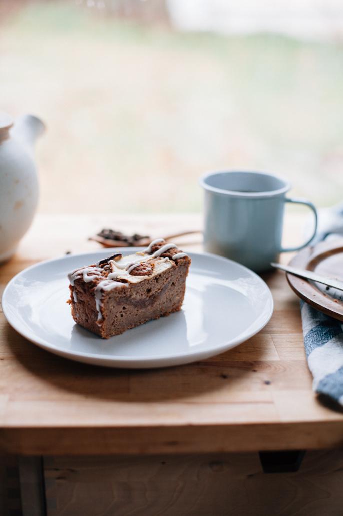 apple butter breakfast cake (gluten free, dairy free) via will frolic for food