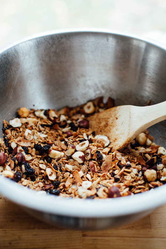 bohemian dream gift granola (coconut, cherry, hazelnut & hemp chocolate) via will frolic for food (gluten free, vegan)bohemian dream gift granola (coconut, cherry, hazelnut & hemp chocolate) via will frolic for food (gluten free, vegan)
