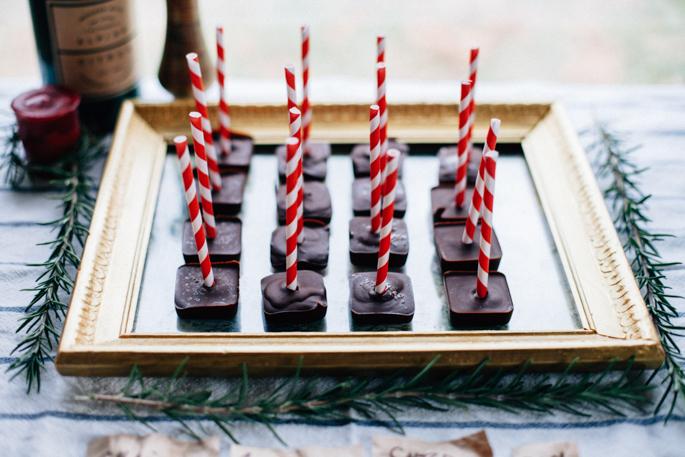 hot chocolate bar for grown ups via will frolic for food (vegan, gluten free recipe)