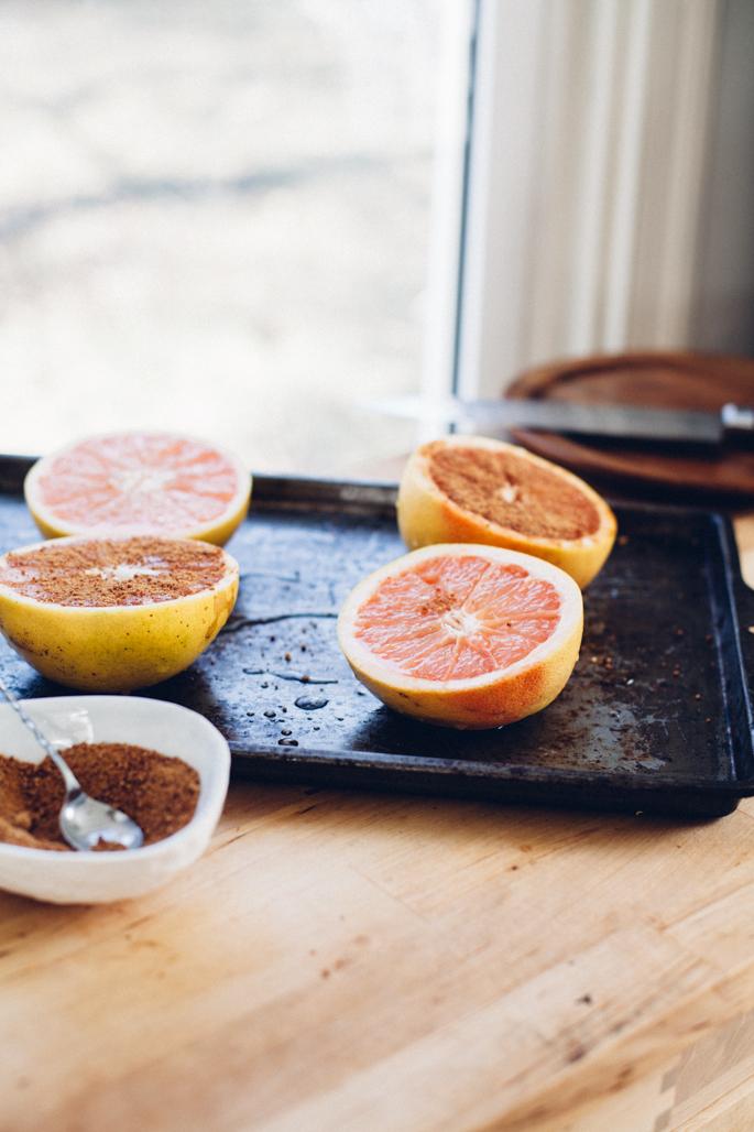 coconut sugar broiled grapefruit via will frolic for food (vegan)