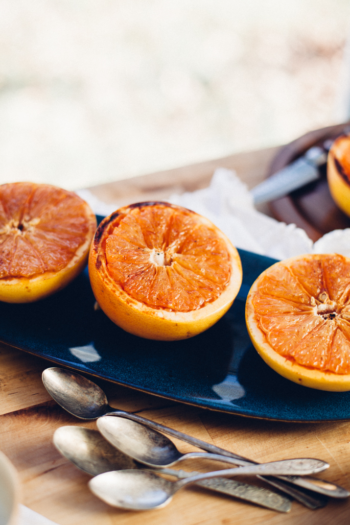 coconut sugar broiled grapefruit via will frolic for food (vegan)