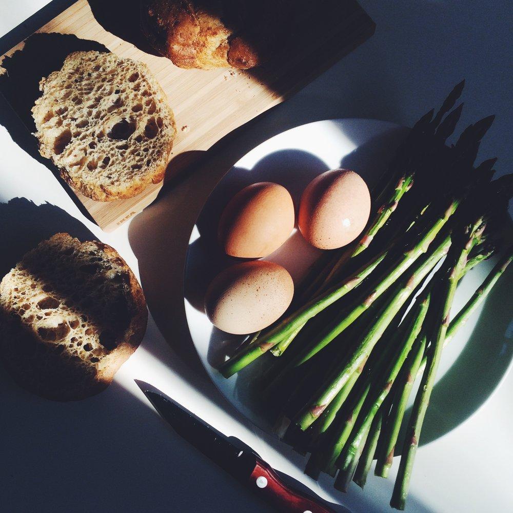 preparing for breakfast via will frolic for food