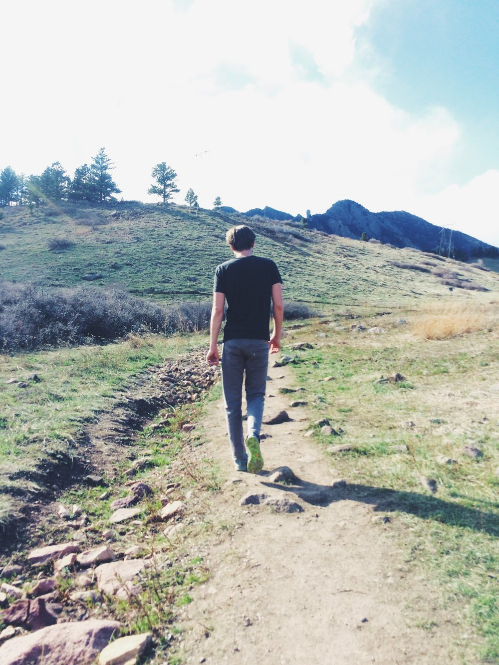 a hike through boulder, CO via will frolic for food