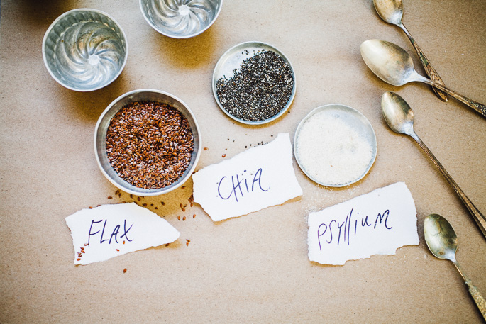 guide to baking with gum free binders in gluten free, vegan baking aka learn about how to bake with chia, flax, and psyllium | via willfrolicforfood.com