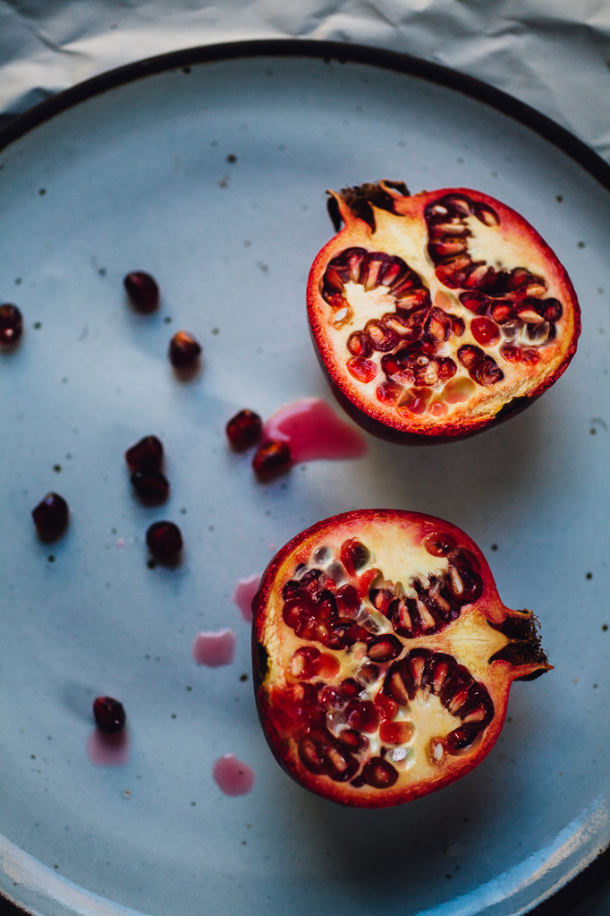 sanguine sangria with apple and pomegranate | recipe via willfrolicforfood.com
