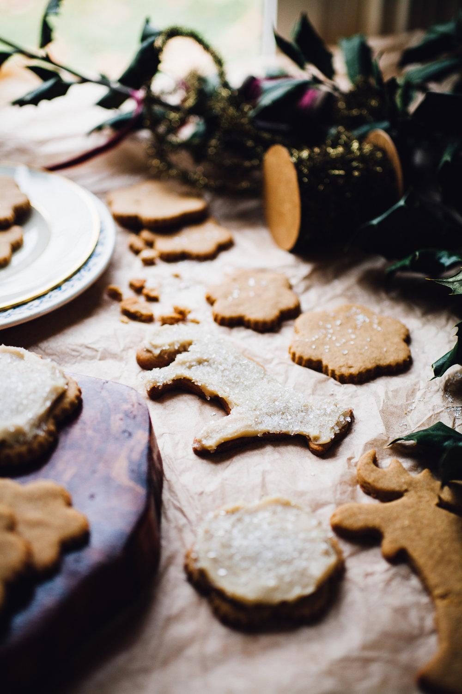 vegan gluten free sugar cookies | recipe via willfrolicforfood.com