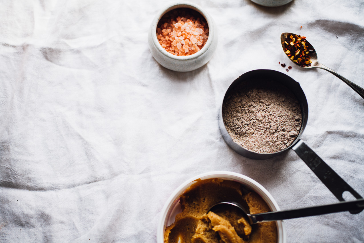 savory teff porridge breakfast bowl | recipe via willfrolicforfood.com