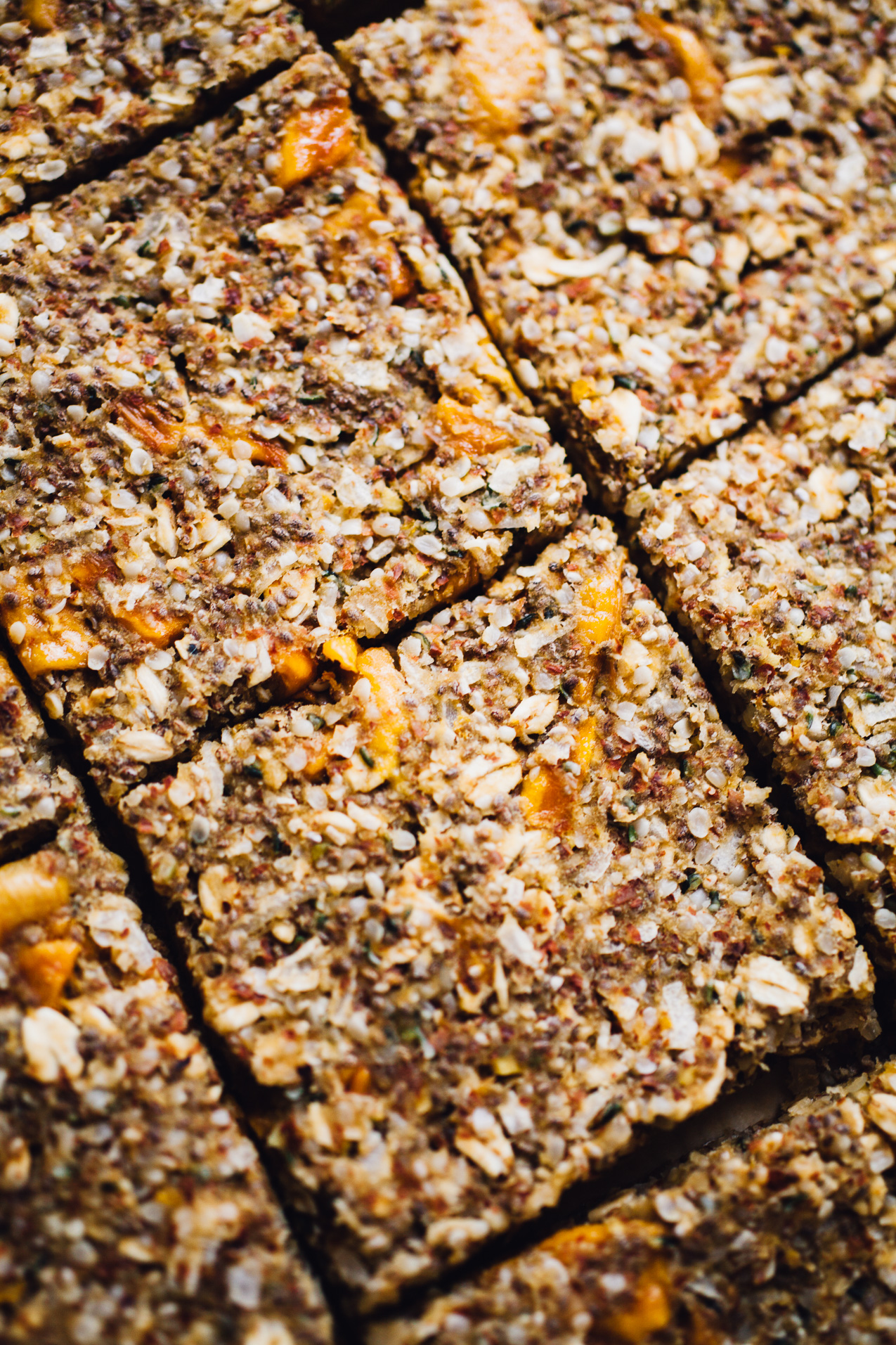 mango hemp protein breakfast bars | recipe via willfrolicforfood.com