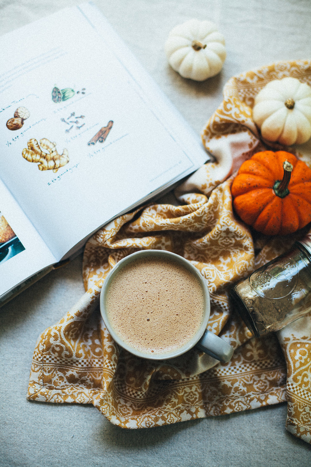 the BEST pumpkin spice hot chocolate (with hawaij) | willfrolicforfood.com