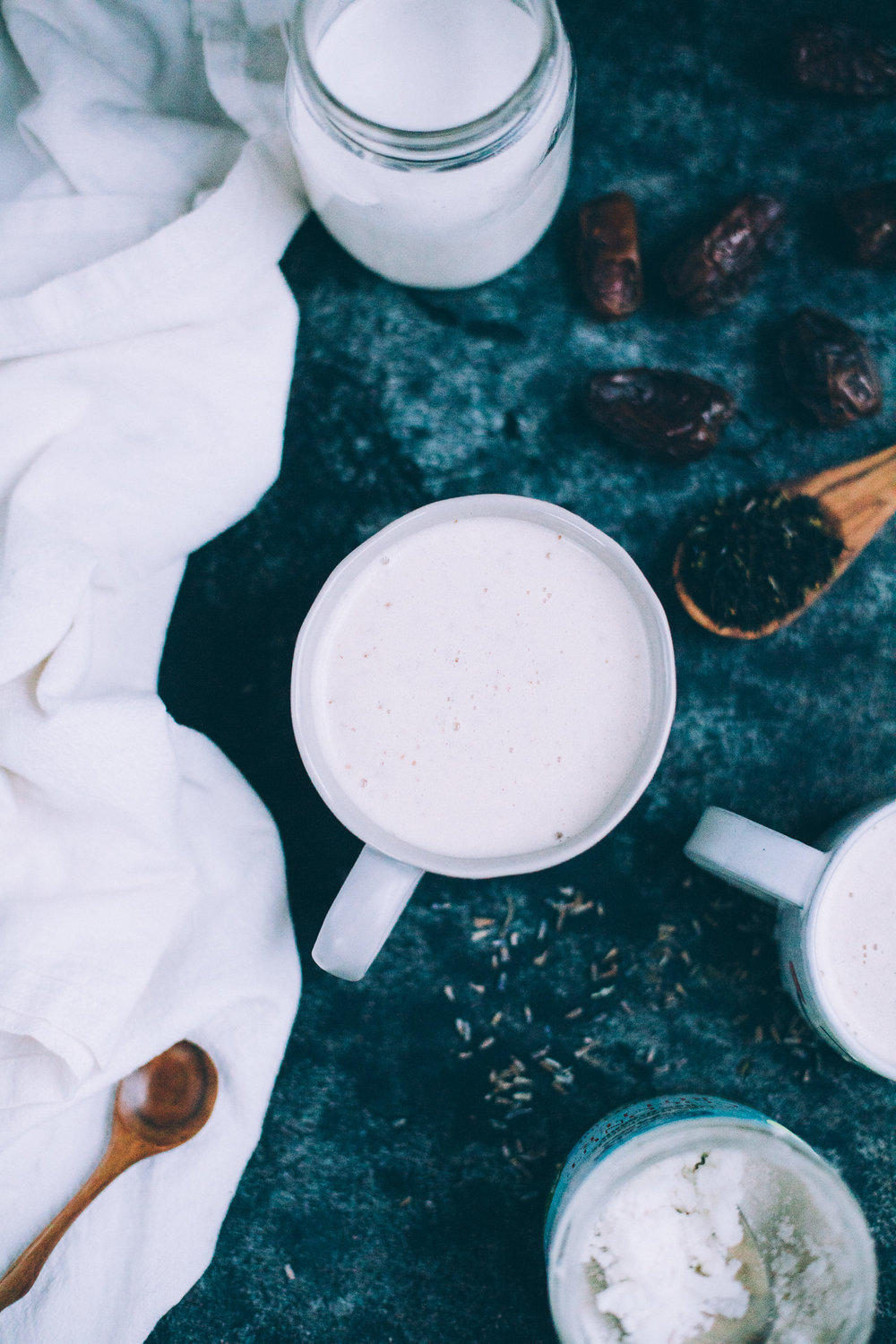 Coconut Lavender London Fog Latte (vegan) | recipe via willfrolicforfood.com