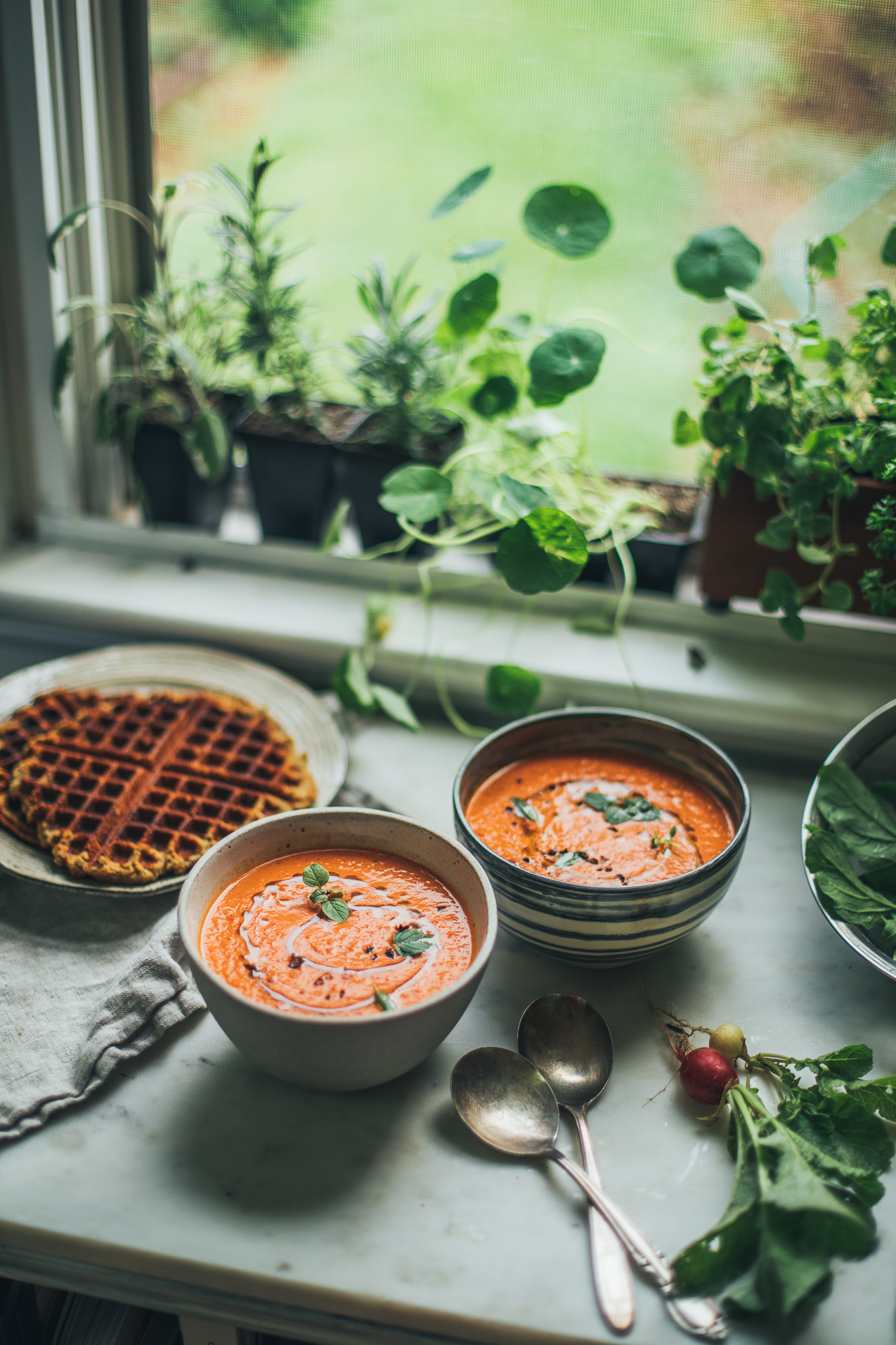The Best Creamy Vegan Tomato Soup With Fennel My Go To Savory Picco Latte Matcha Green Tea Can Almond Waffles