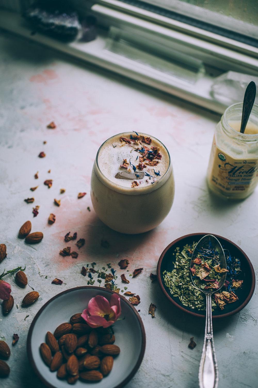yerba mate latte | tea latte | creamy iced tea | will frolic for food | yerba mate recipe