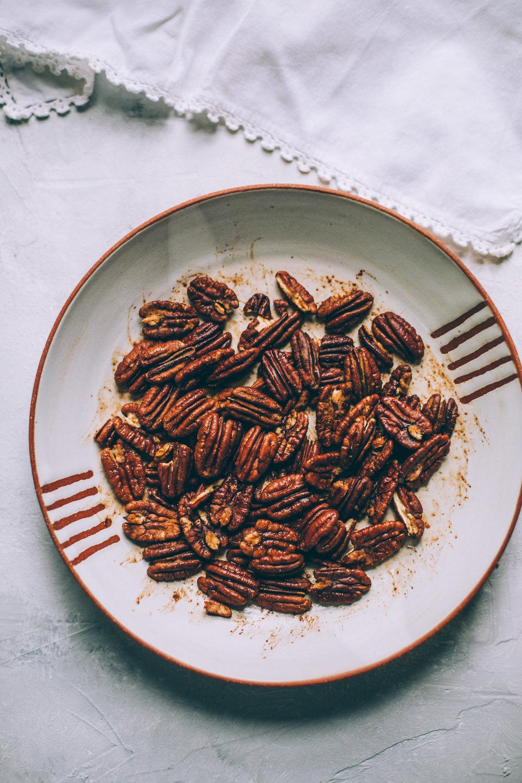 Tamari Cinnamon Pecans
